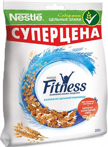 Сухой завтрак  Фитнесс пшеничные хлопья с витаминами и минералами мяхкая упаковка 230 гр