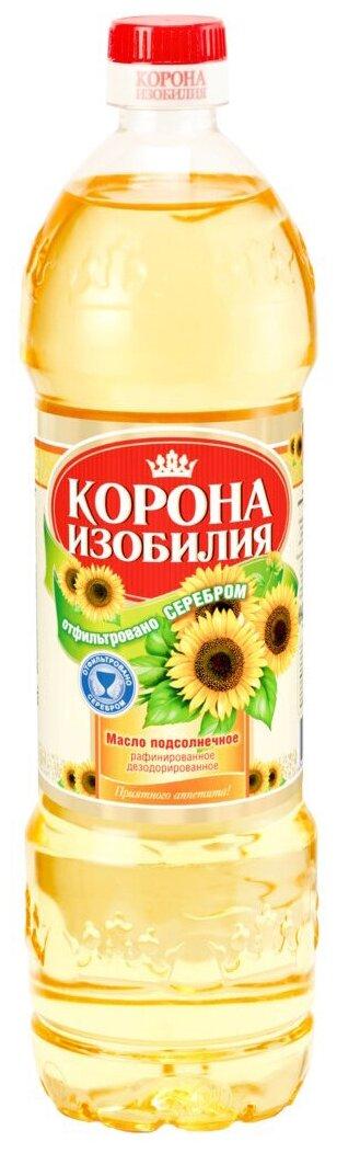 Масло подсолнечное Корона Изобилия 1л.