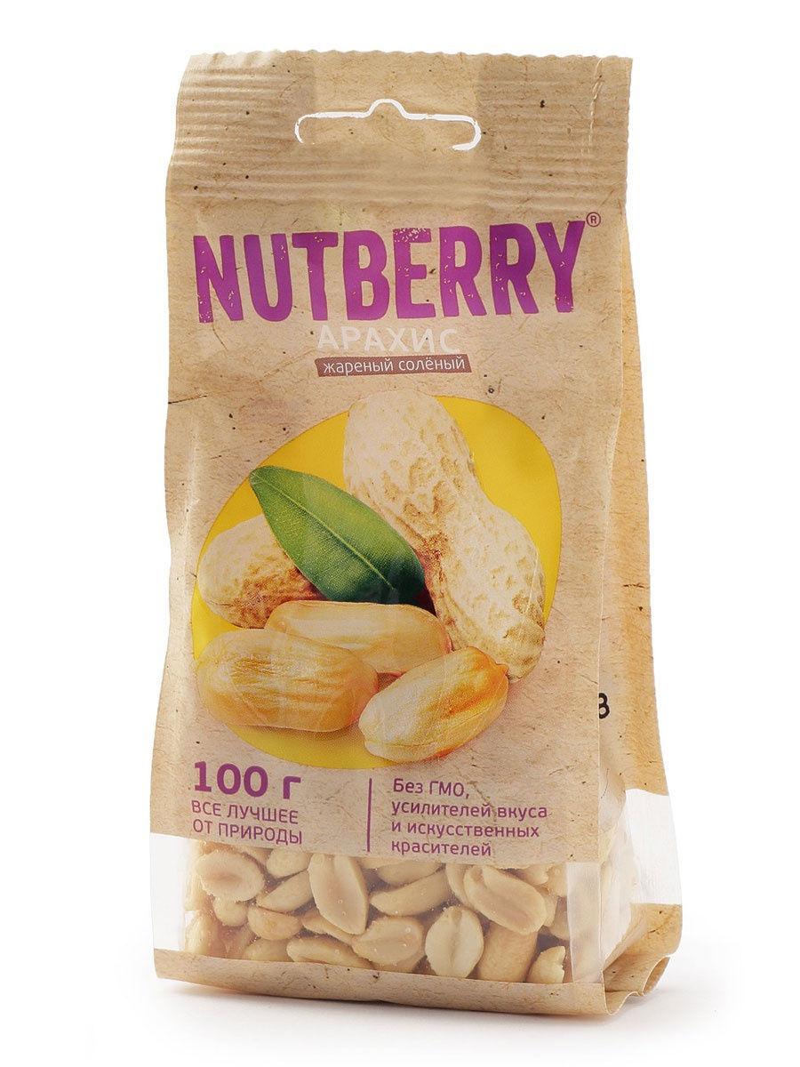 Арахис Nutberry 100гр.