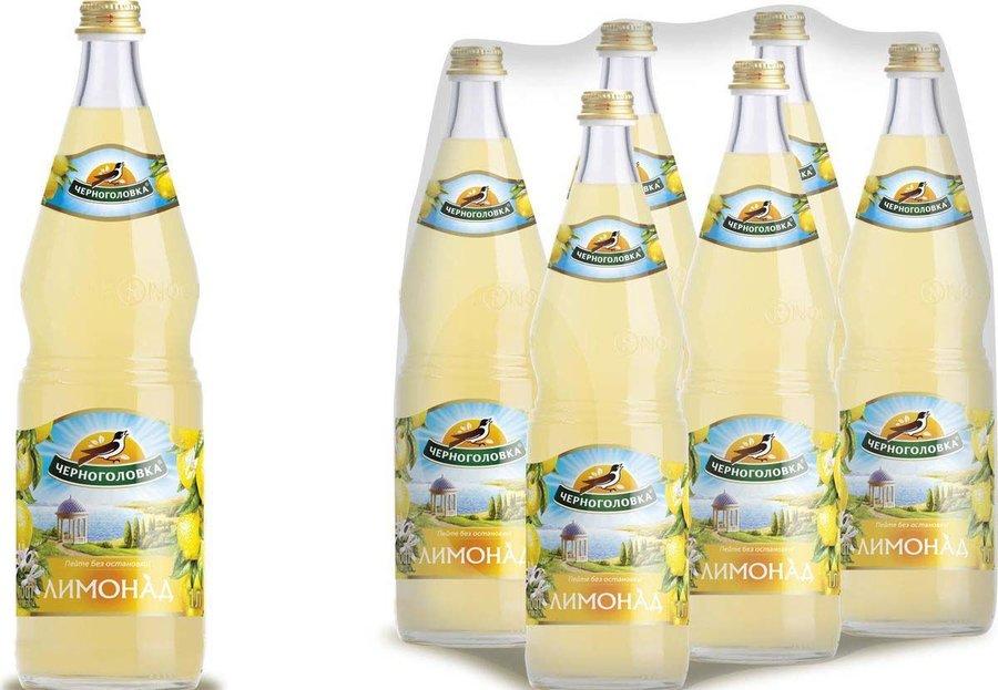 Лимонад оригинальный 'Черноголовка' ст/бут 1л.