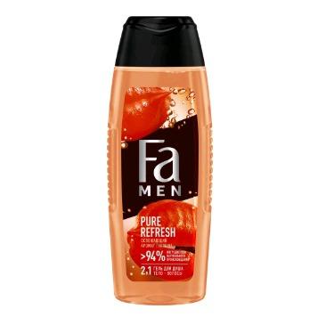 FA MEN гель для душа PURE REFRESH с ароматом гуараны  250 мл