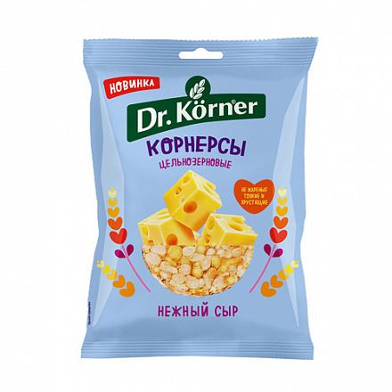 Чипсы кукурузно-рисовые 'С сыром' Dr. Korner 50гр.