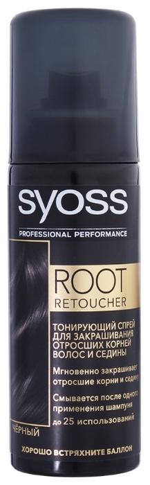 Спрей Syoss Root Retoucher тонирующий для закрашивания отросших корней волос и седины