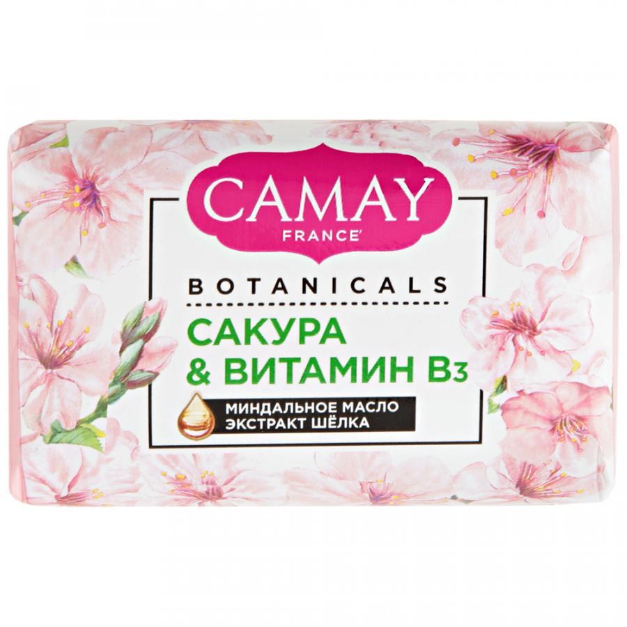 CAMAY BOTANICALS туалетное мыло Японская сакура 85 гр