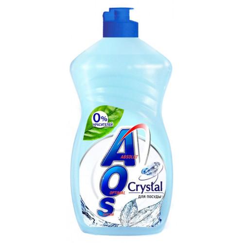 Средство моющее жидкое Aos Crystal 450гр.