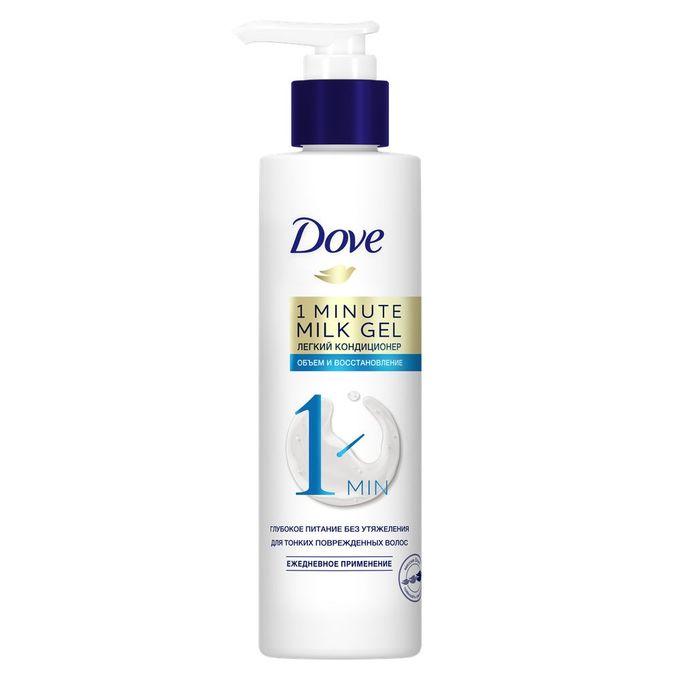 Молочко-гель для волос Dove Объем и восстановление 190 мл.