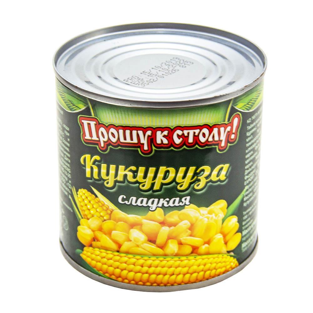 Кукуруза Прошу к столу 425мл/340гр