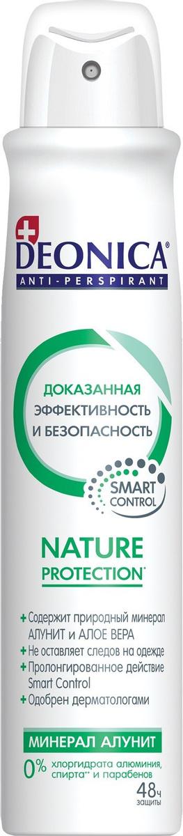 Женский Антиперспирант-спрей Deonica Nature Protection 200мл.