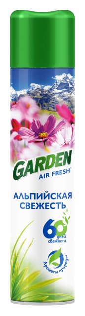 Garden Освежитель воздуха Альпийская Свежесть 300см3