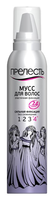 Прелесть Мусс для волос СФ 160см3.
