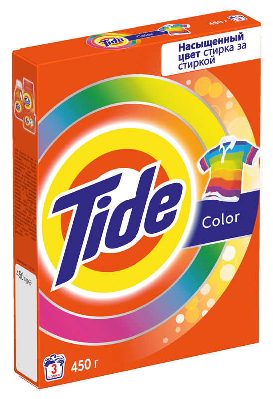 Стиральный порошок Tide автомат Color 450гр.
