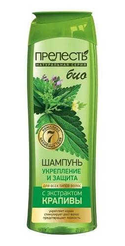 Шампунь Перелесть БИО укрепление и защита для всех типов волос 400мл.