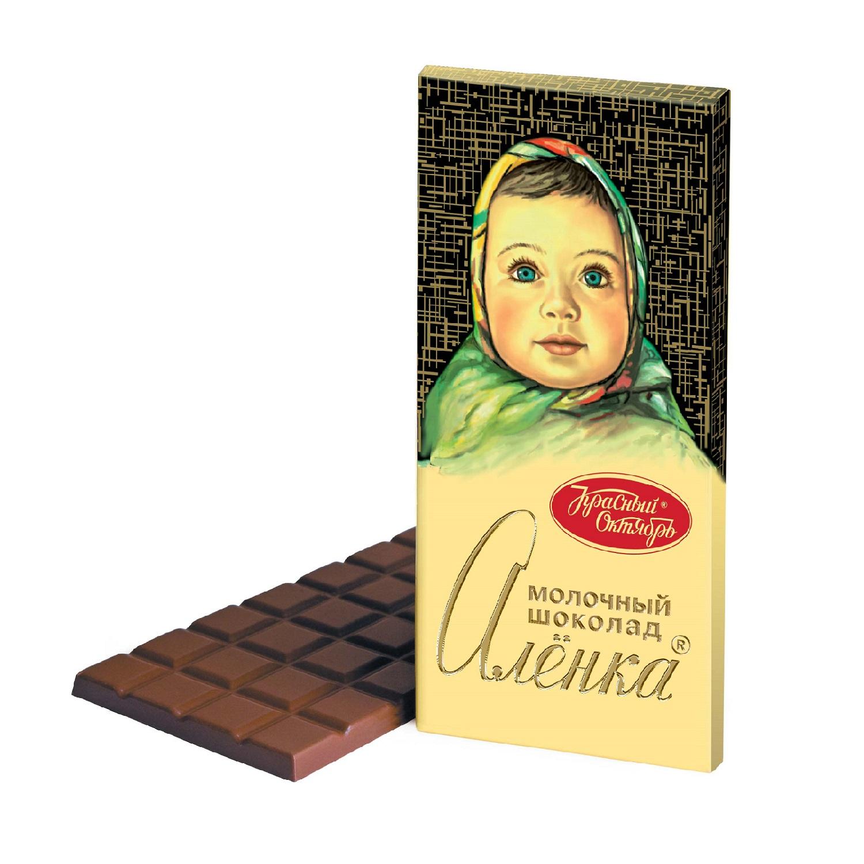 Шоколад Аленка молочный 90гр.