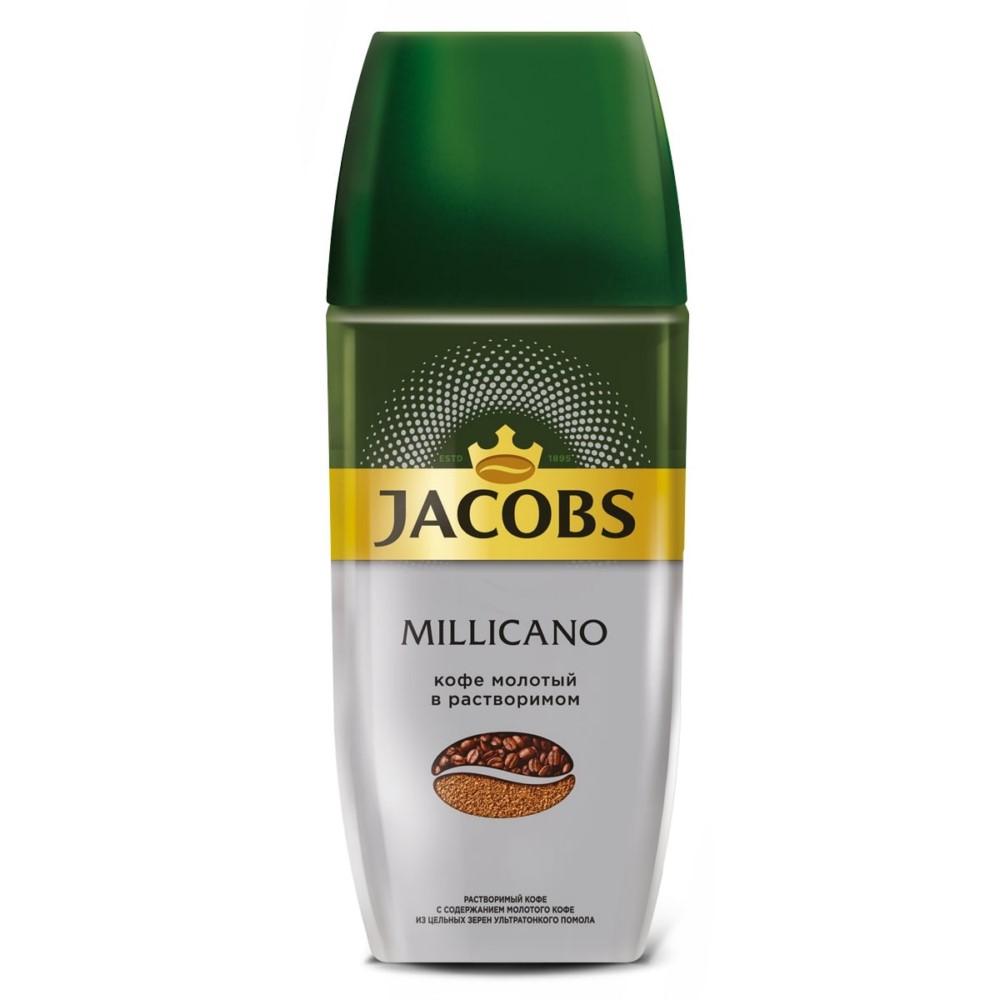 Кофе молотый в растворимом Jacobs Monarch Millicano