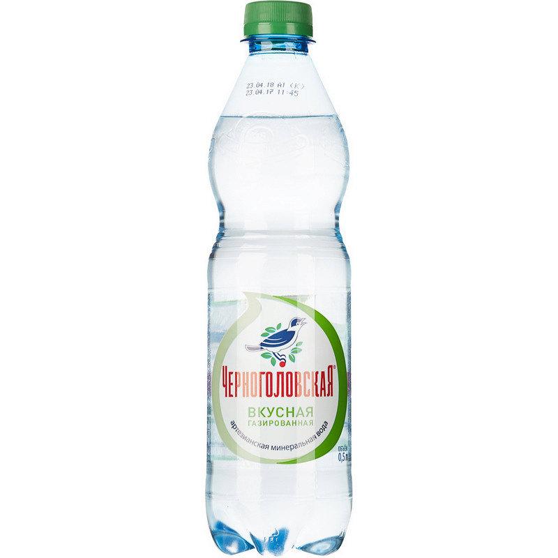 Вода минеральная газированная Черноголовская 0