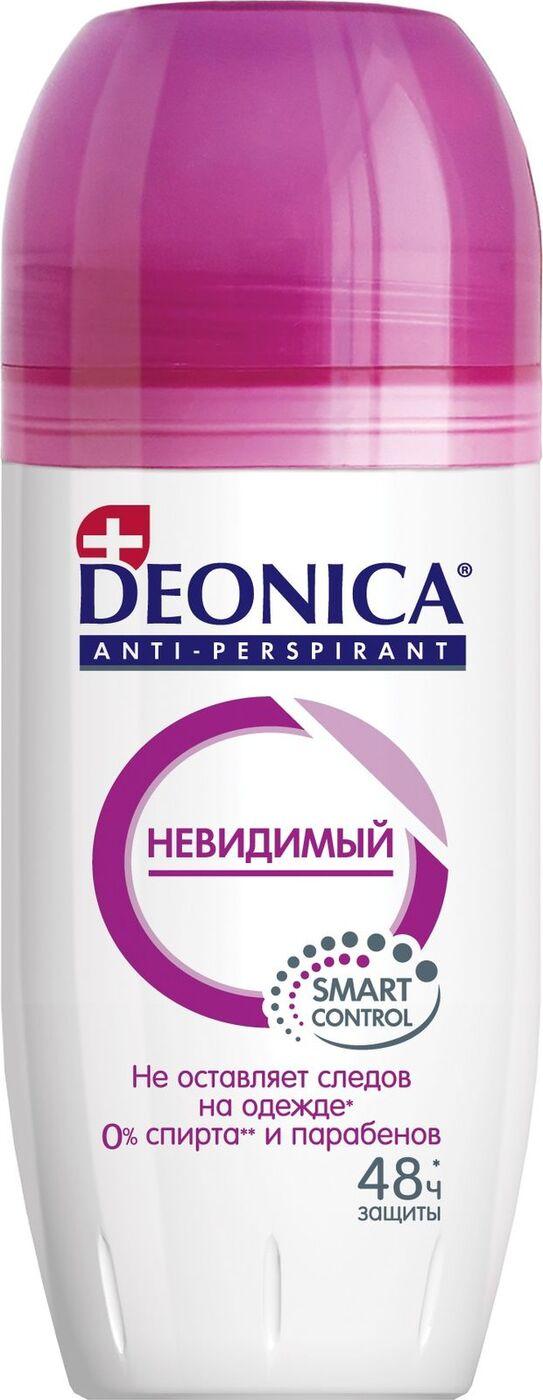Дезодорант женский антиперспирант Deonica Невидимый Ролик 50 мл.
