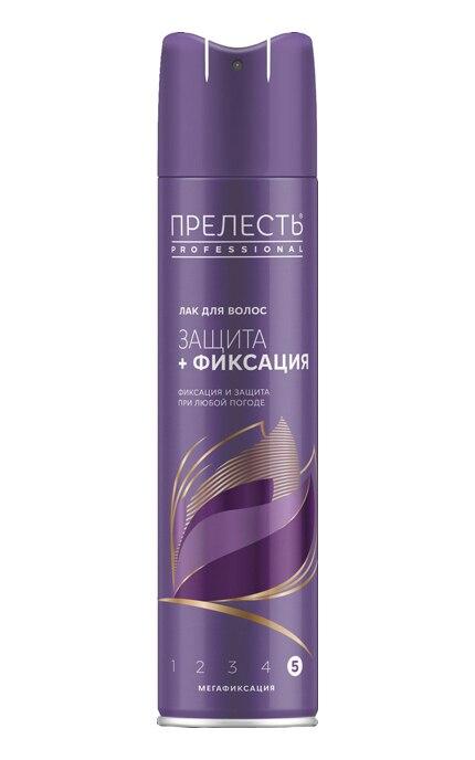 Прелесть Professional лак для волос Защита Мегафиксация 225 мл.