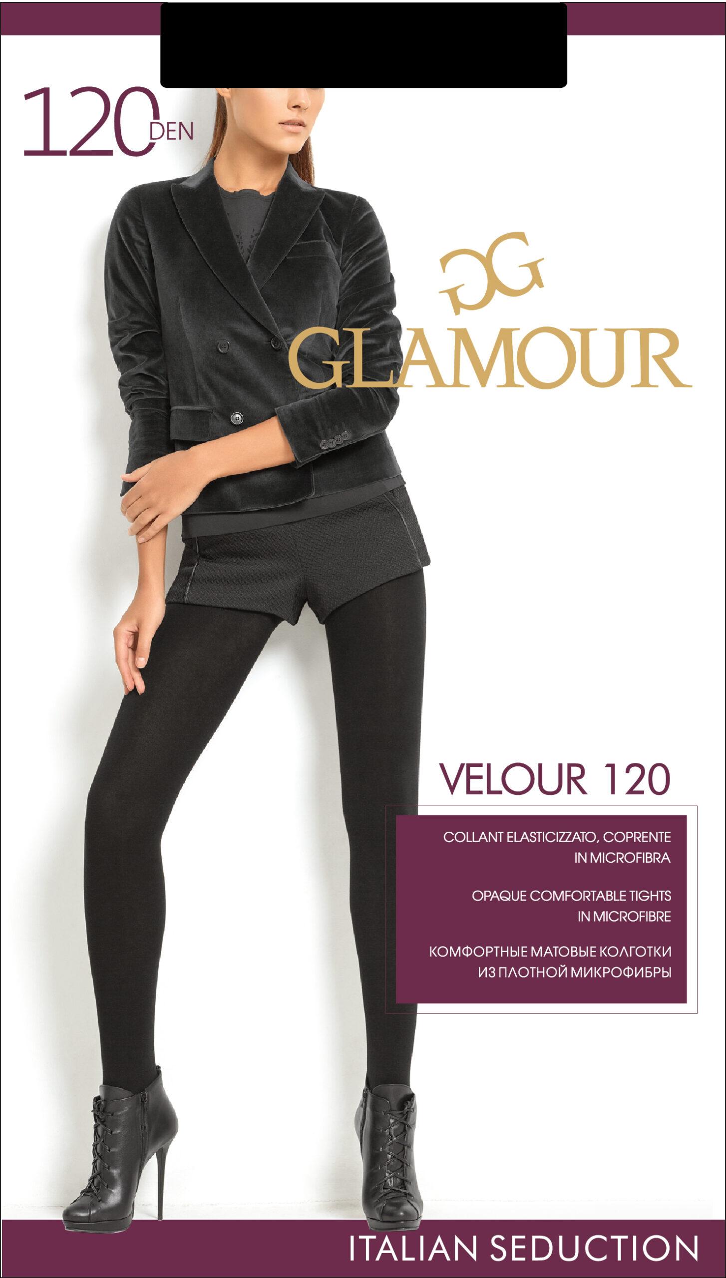 Колготки Glamour Velour 120 ден