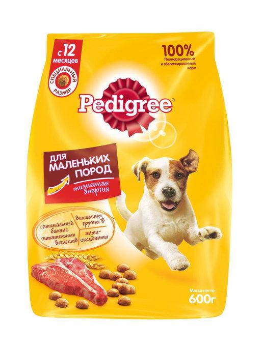 Pedigree для взрослых собак маленьких пород