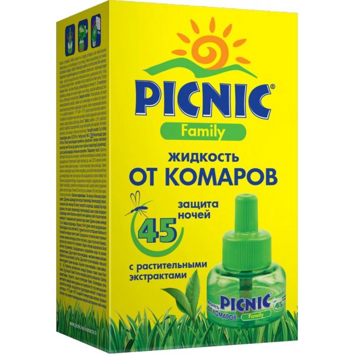 Picnic Family Жидкость от комаров для фумигатора 45 ночей 30 мл.