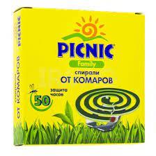Спирали от комаров Picnic Family (10 шт.)