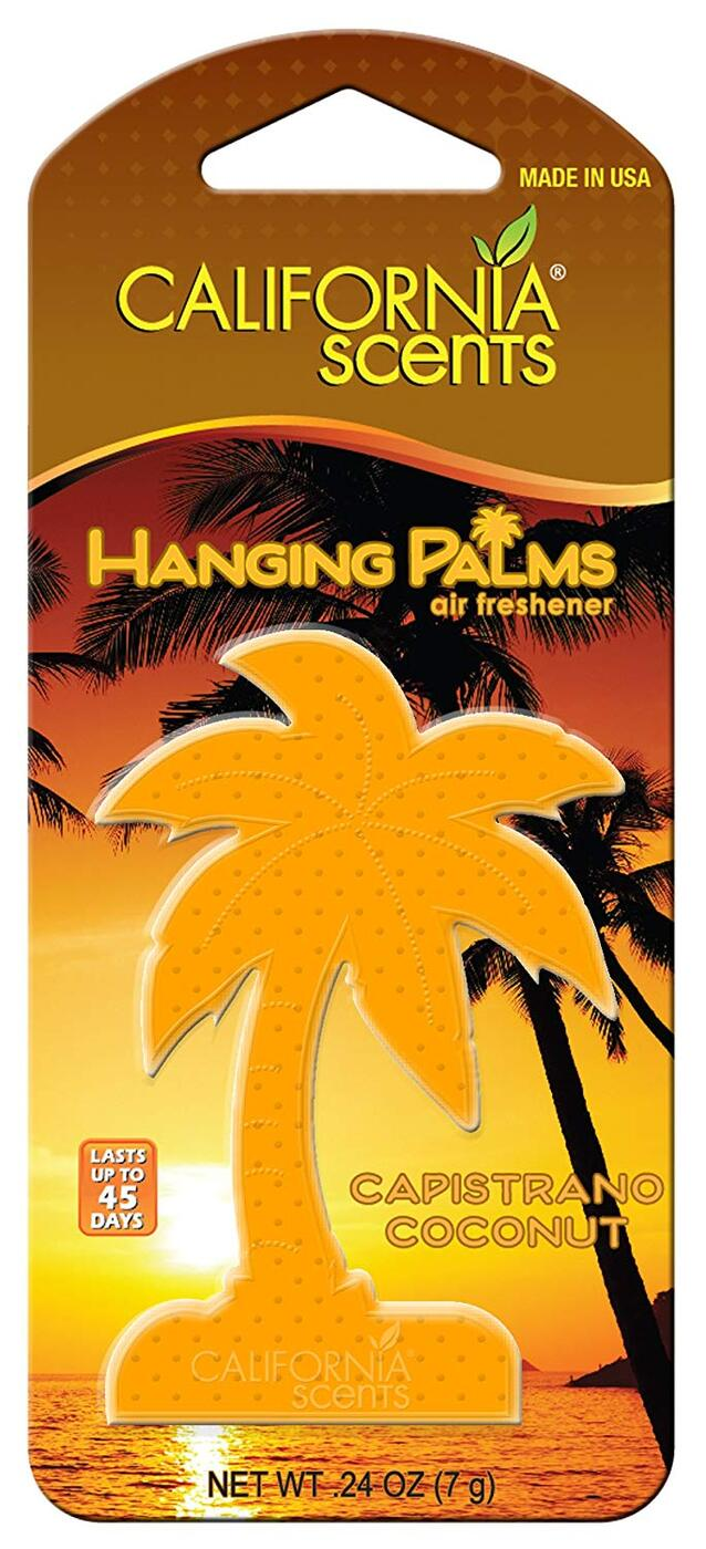 Армоатизатор для авто California scents пальмы кокос капистрано 1шт.