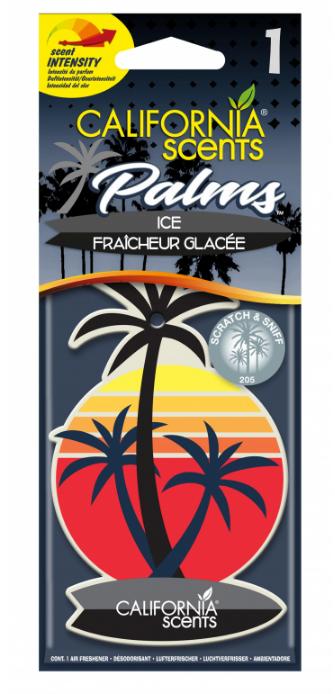 Ароматизатор для авто California scents  пальмы океанская волна 1шт