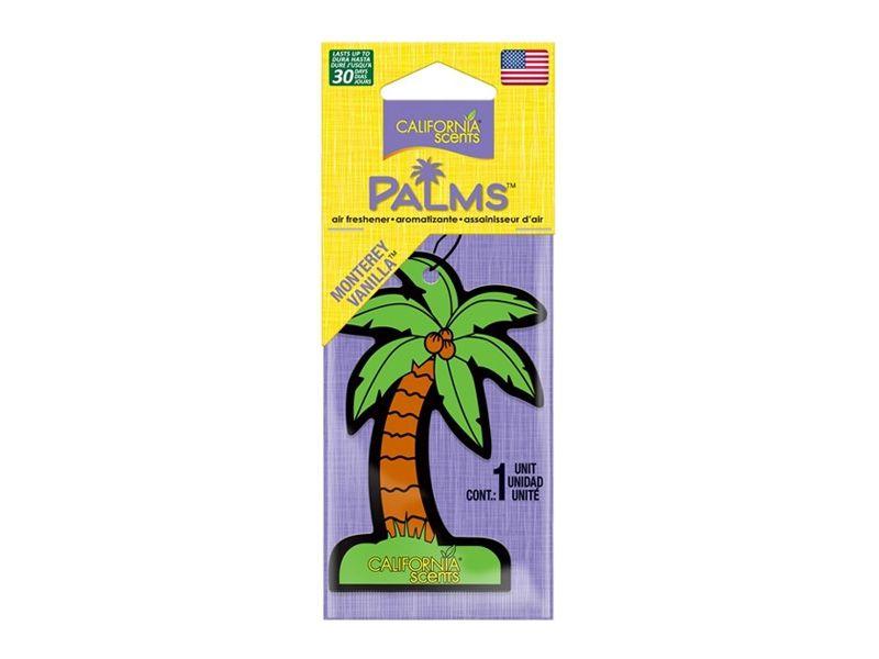 Ароматизатор для авто California scents  пальмы мотерейская ваниль 1шт