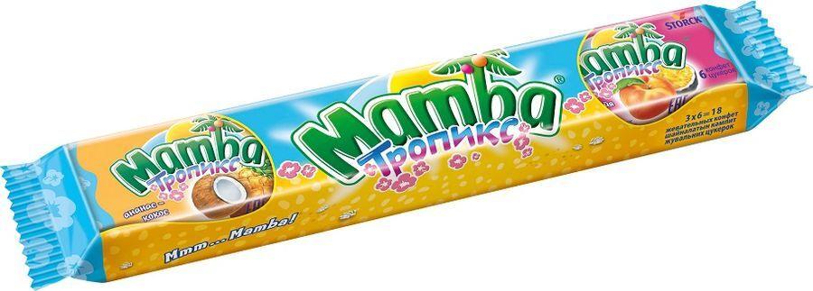 Жевательные конфеты Мамба тропикс 79