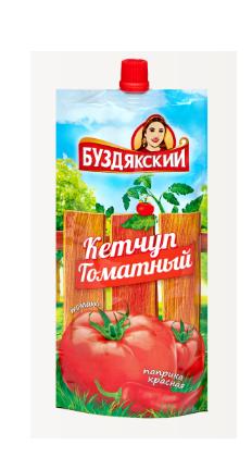 Кетчуп томатный 350гр (дойпак)