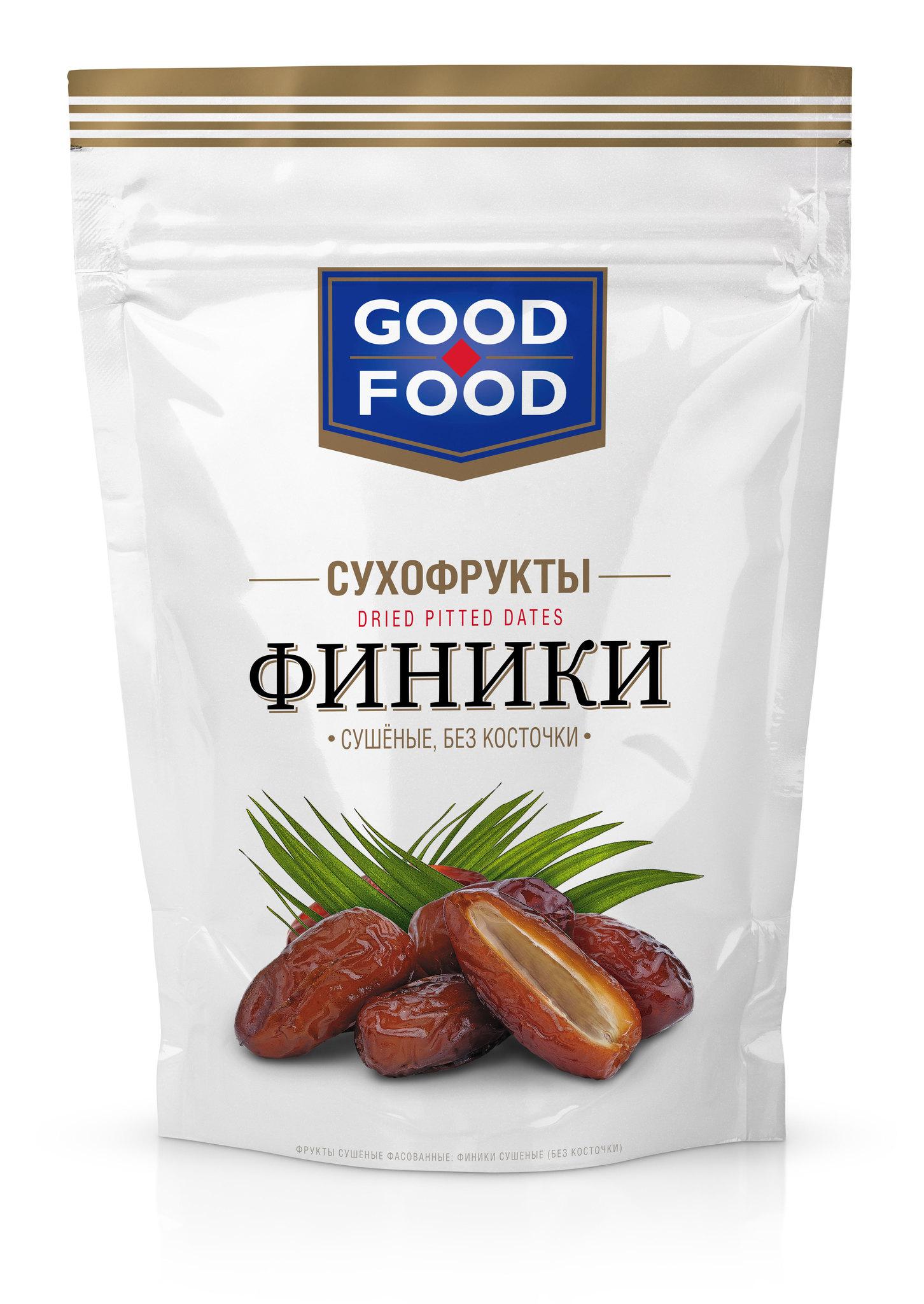 СУХОФРУКТЫ GOOD FOOD ФИНИКИ 200ГР