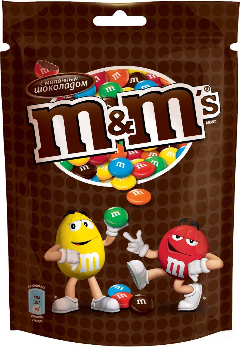 Драже M&M's c молочным шоколадом 80гр.