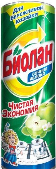 Чистящее средство Биолан Сочное яблоко 400гр