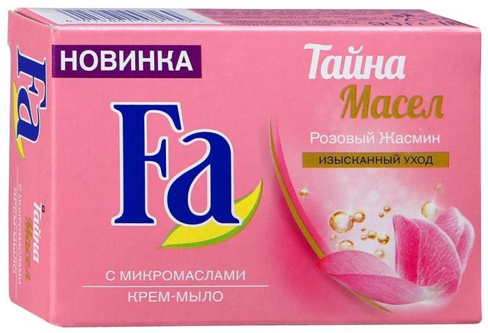 Fa Крем-мыло Кусковое Тайна масел Розовый жасмин 90 гр