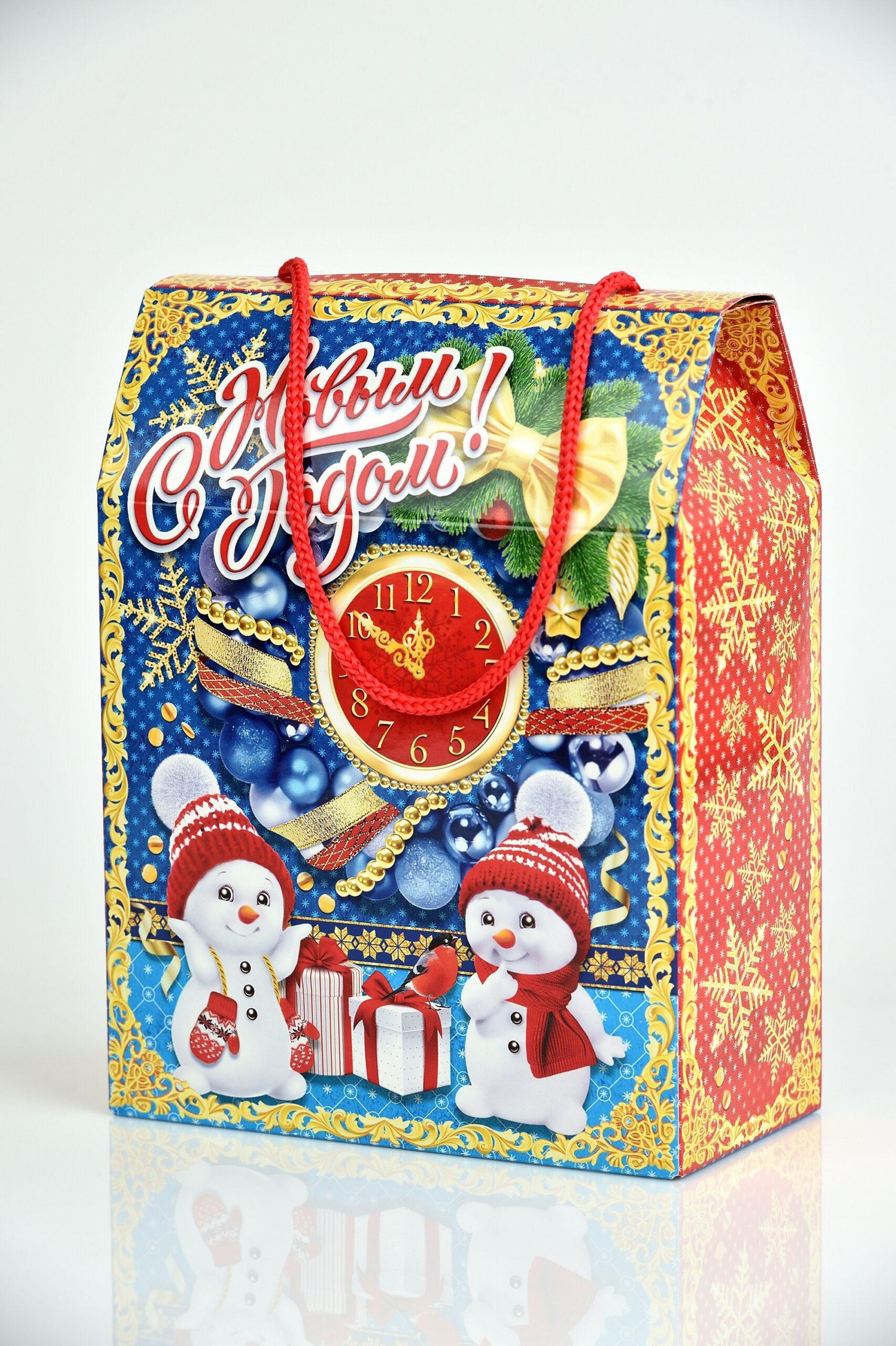 """Новогодний подарок """"Счастливые минуты"""" 500гр"""